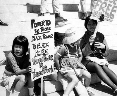 ''Power to the people. Black power to black people. Yellow power to yellow people.''